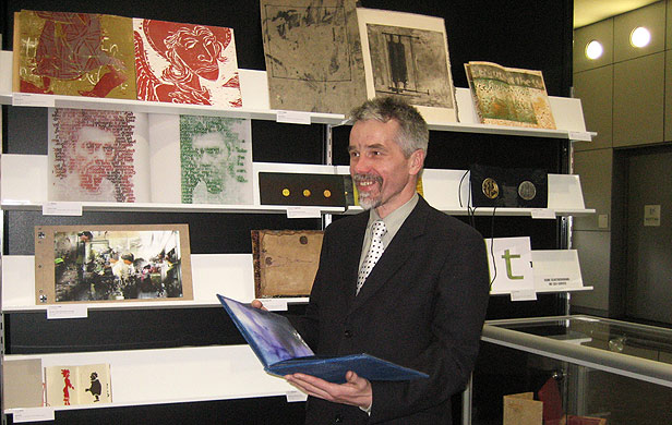 Artist's Book Exhibitions Curator