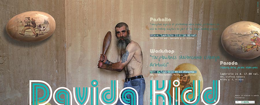 artists-book-printmaking-Davida-Kidd-in-Vilnius-2014-06-Poster