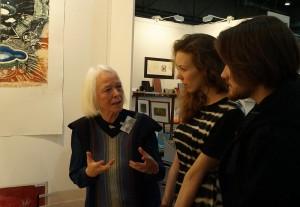 Barbara-Beisinghoff-with-Agota-and-Vilmantas