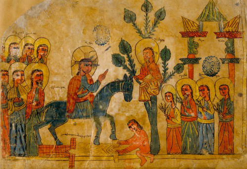 Armenian-manusript-Palm-Sunday