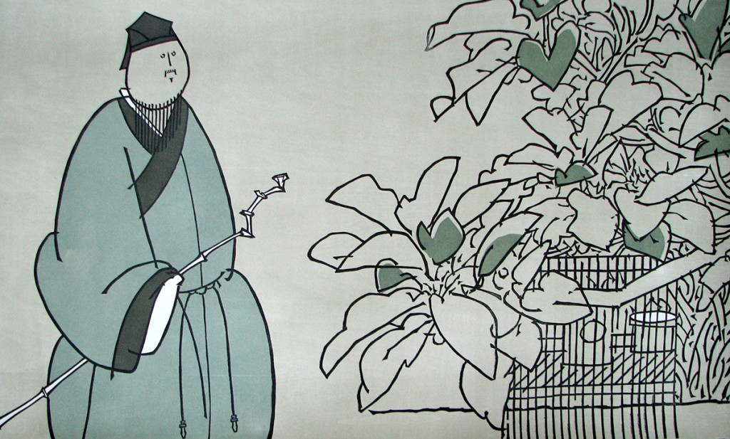 xiaofei-li_an-solitudinarian_woodcut