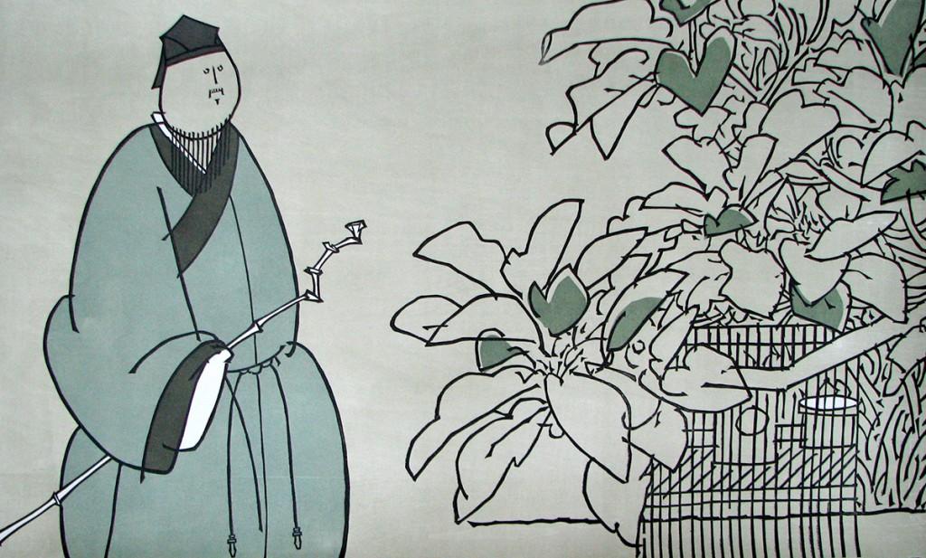 xiaofei-li_an-solitudinarian_woodcut