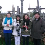 Prof. Chang-Soo Kim with students in Cross Hill