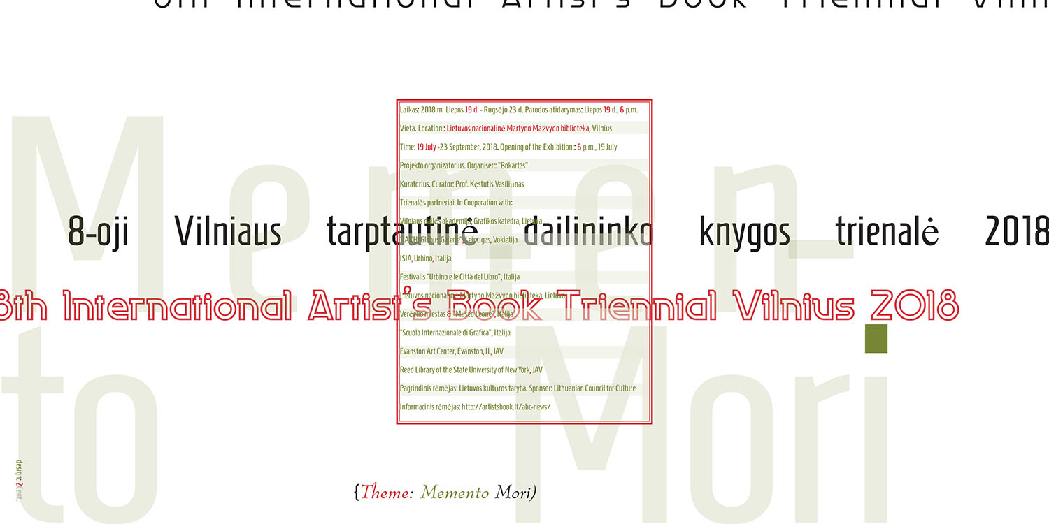 Artists-Book-Exhibition-Triennial-Vilnius-2018-Poster-2