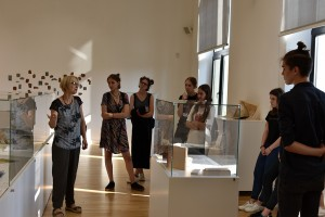 Lecture of art critic Jurgita Sprindziuniene in the 8th Artist's Book Triennial, in Vilnius