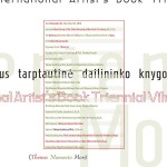 Artists-Book-Triennial-in-Fredonia-Poster