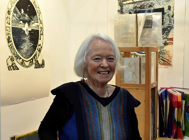 artists-book-creator-Barbara-Beisinghoff-in-Vilnius